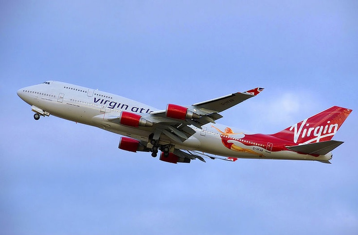 Virgin Atlantic partners with Virgin America for reward flights.