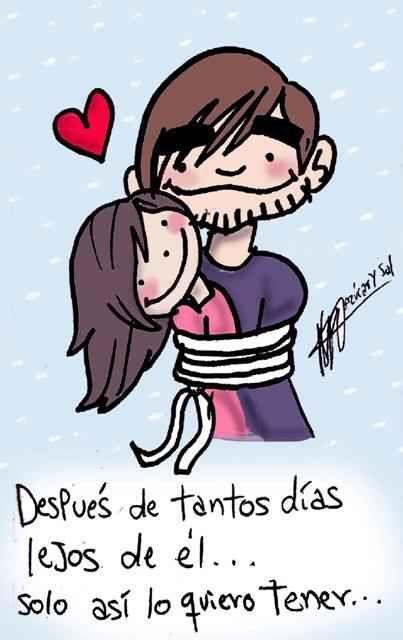 Abrazame fuerte y NUNCA me sueltes te amO!! ♥