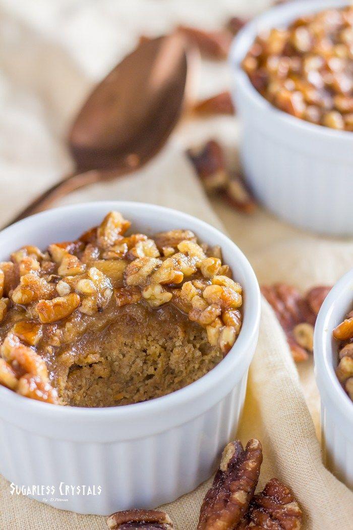 Pecan Pumpkin Spice Keto Mug Cake (Low Carb, Sugar Free ...