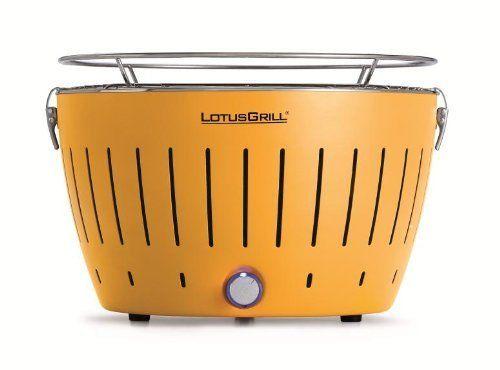 LotusGrill Barbecue de table sans fumée au charbon de bois avec système Turboboost Jaune maïs de Lotus Grill,  159€ http://www.amazon.fr/dp/B00BLR9NOA/ref=cm_sw_r_pi_dp_Y2PBtb195E51Z