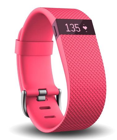 Loving this Pink Fitbit Charge HR Wireless Activity Wristband on #zulily! #zulilyfinds