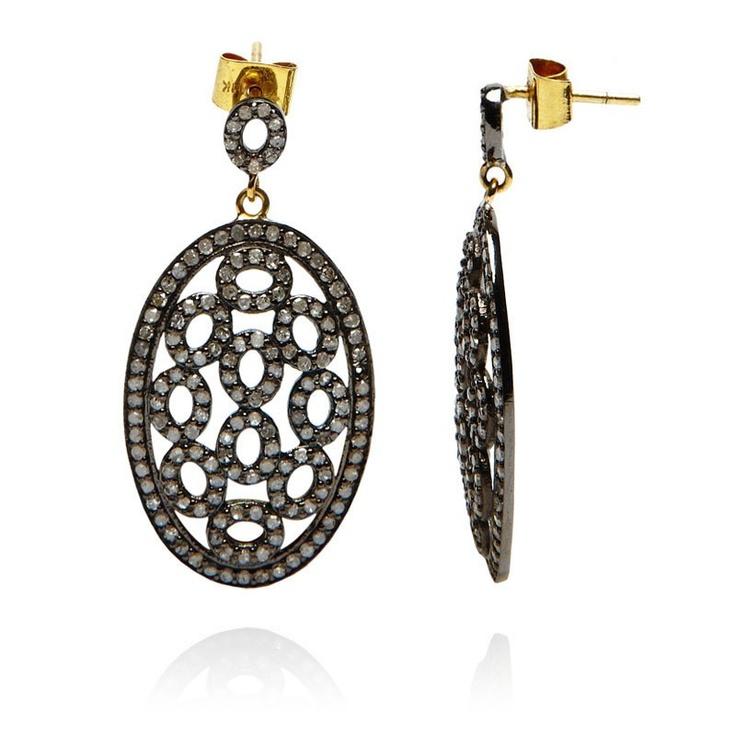 Victoria earrings, Julie Wettergren