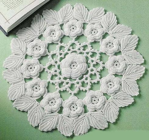 Crochet doilies on pinterest filet crochet tablecloths and crochet