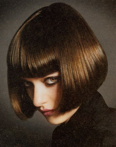Let's face it...once you've been persuaded to have bangs cut...There's no going back for you.. Emasculated forever!