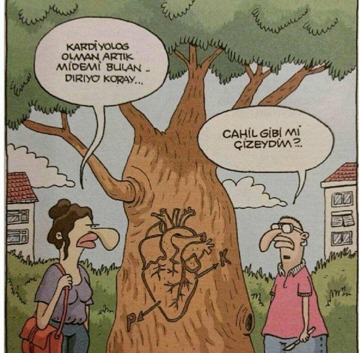Kardiyolog sevgili karikatürü