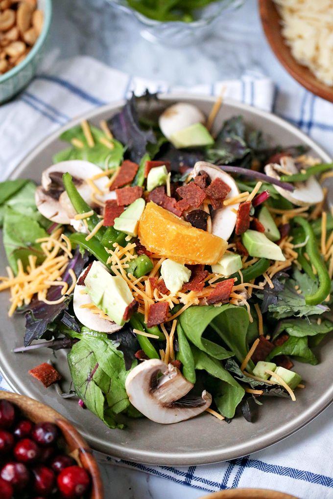 3 Easy Salad Recipes Easy Salad Recipes Salad Recipes Easy Salads