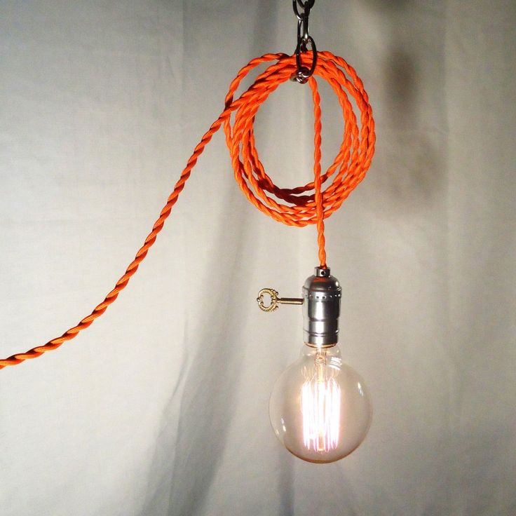 Hanging Lamp With Cord: 1000+ Ideas About Hanging Light Bulbs On Pinterest