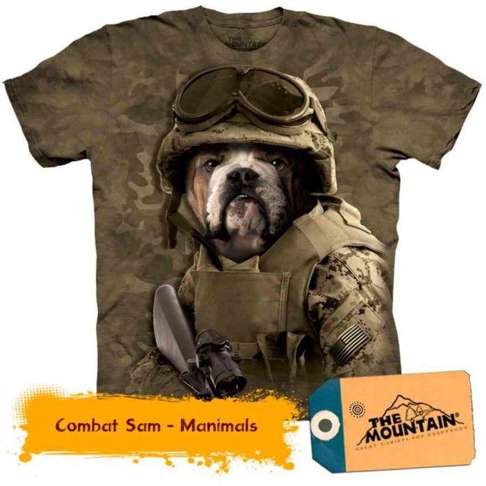 Tricouri The Mountain – Tricou Combat Sam