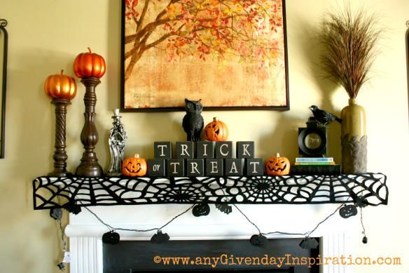 Halloween decorations : IDEAS & INSPIRATIONS  Halloween Decorating- Tips & Tricks (or treats)