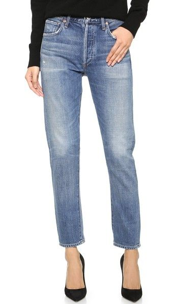 Citizens Of Humanity Liya High Rise Jeans $269, available here: rstyle.me/~8Mspy