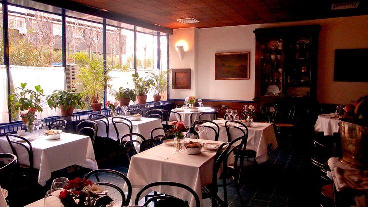 Restaurante Sacha, Madrid.
