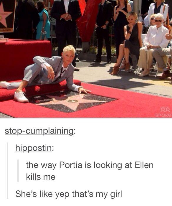 Ellen and Portia