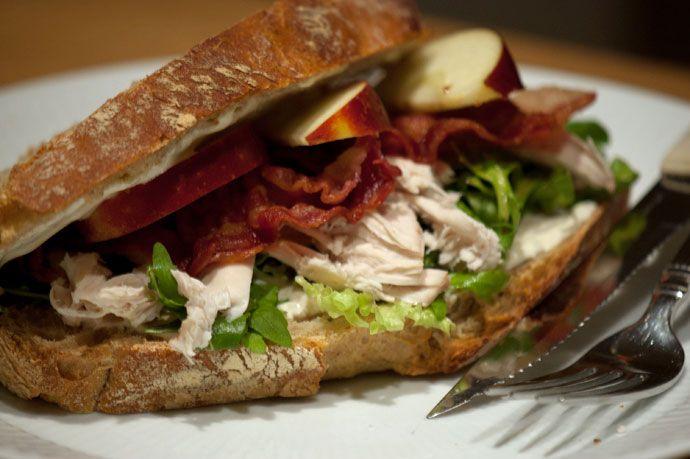 Opskrift på hjemmelavet Club Sandwich