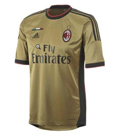 AC Milan magliette da calcio 2014 - Trasferta