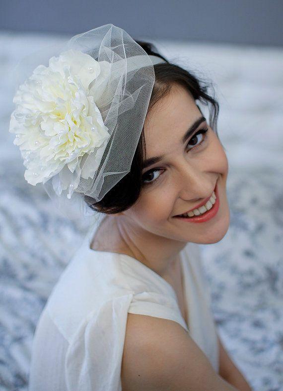 Floral Crown Flower Wedding Headband Bridal Floral Headpiece on Etsy, £29.40