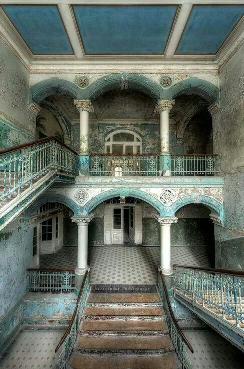 Abandoned sanitorium in Germany