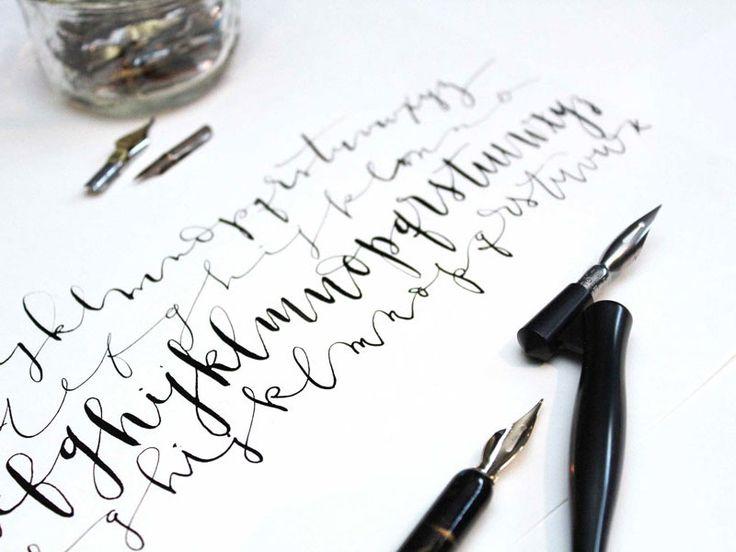 La diff rence entre le lettrage cr atif la calligraphie - Difference entre pin et sapin ...