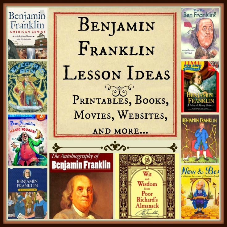 Benjamin Franklin Lesson Ideas  SS1H1 The student will read about and describe the life of historical figures in American history. a. Identify the contributions made by these figures: Benjamin Franklin (inventor/author/ statesman),Thomas Jefferson (Declaration of Independence), Meriwether Lewis and William Clark with Sacagawea (exploration), Harriet Tubman (Underground Railroad), Theodore Roosevelt (National Parks and the environment), George Washington Carver (science).