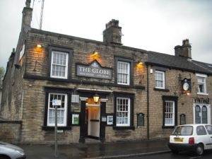 The Globe Inn, Glossop - vegan pub!