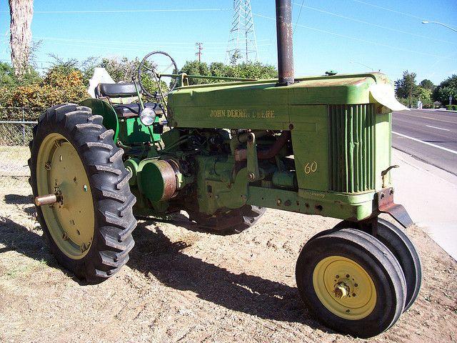 Old John Deere Tractor | Flickr - Photo Sharing!