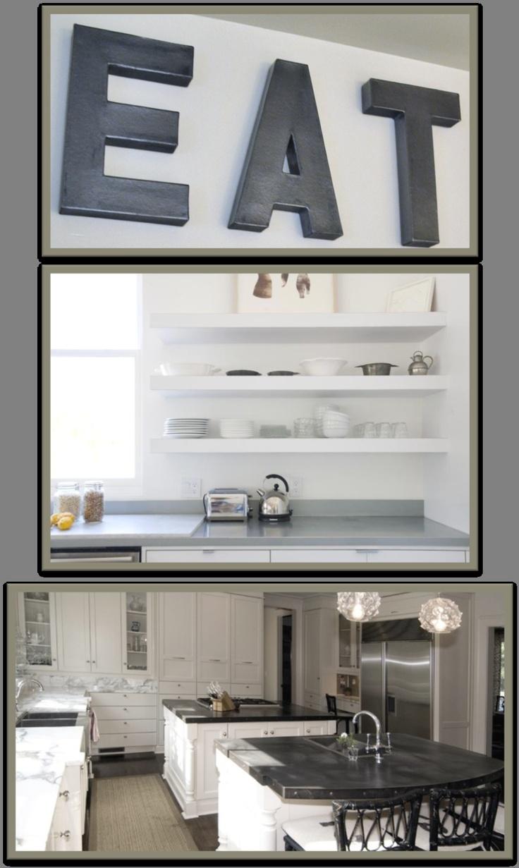 1000 images about zinc counter tops on pinterest beach for Kitchen zinc design