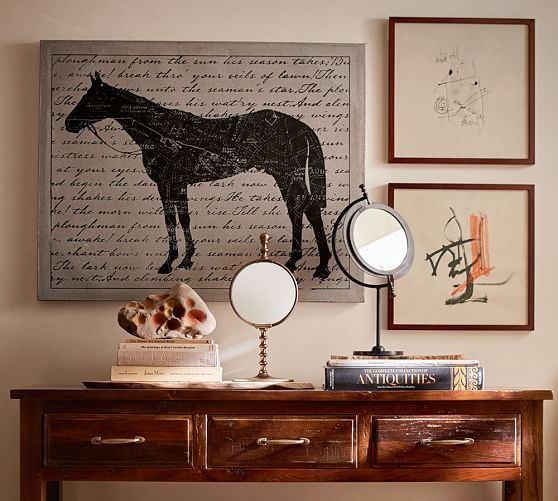 Pottery barn style wall decor : Ideas about pottery barn mirror on