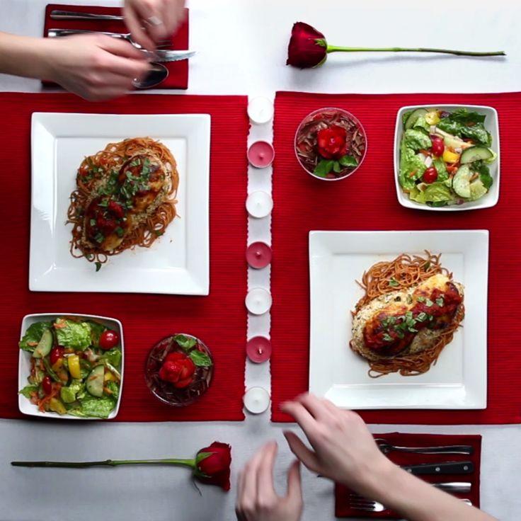 Cena para dos - 2 platos y postre