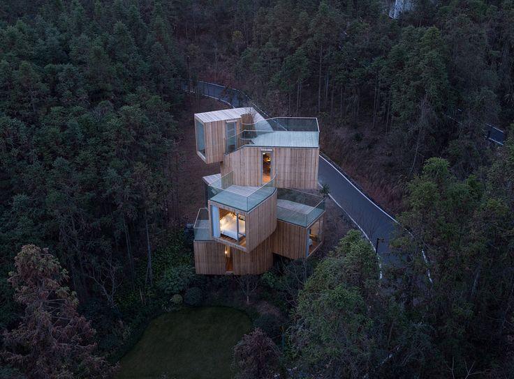 Gallery of The Qiyun Mountain Tree House / Bengo Studio - 1