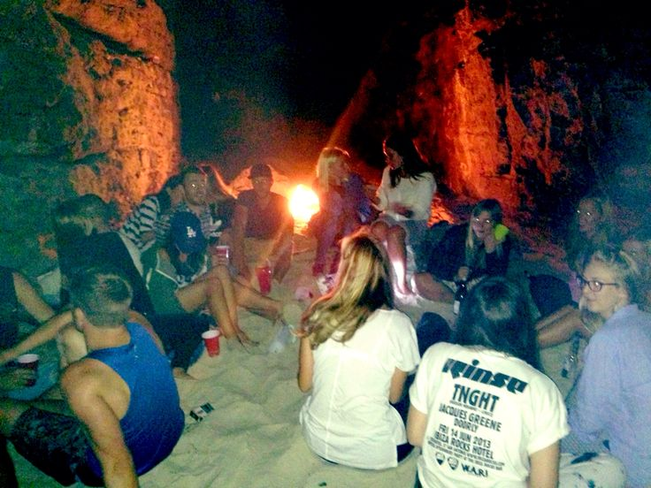 Cave rave!
