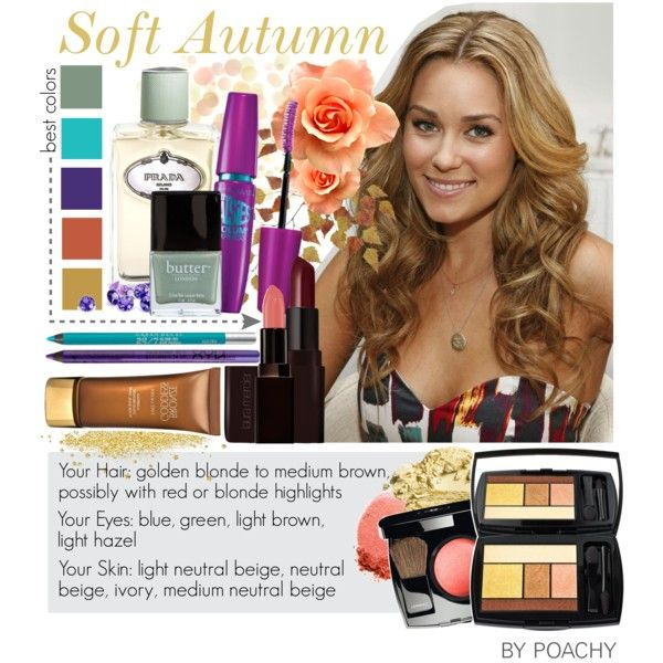 Soft Autumn. by poachy on Polyvore featuring beauty, Lancôme, Maybelline, Chanel, Laura Mercier, NYX, NARS Cosmetics, Urban Decay, Prada and Butter London