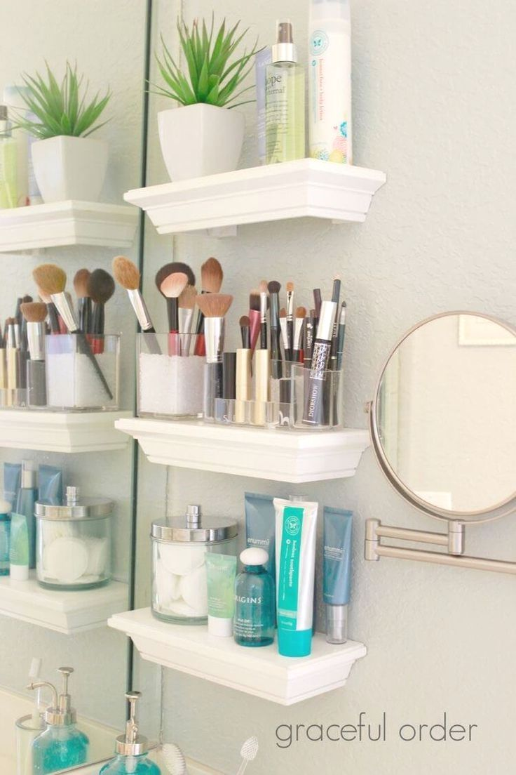 These 10 Bathroom Organization Hacks Have Helped Me Organize My