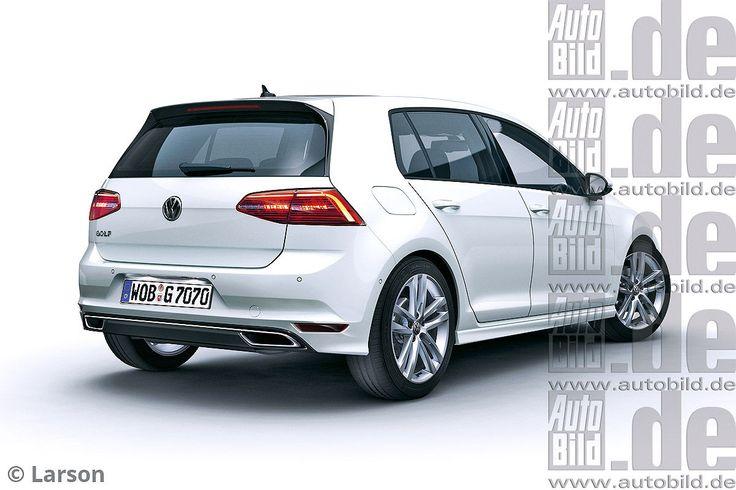 Volkswagen Golf GTE : restylage au printemps 2016