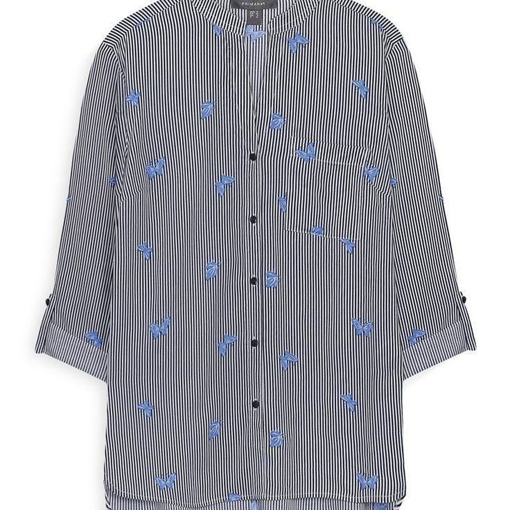 Camisa de rayas azules para mujer  Categoría:#camisas_mujer #primark_mujer #ropa_de_mujer en #PRIMARK #PRIMANIA #primarkespaña  Más detalles en: http://ift.tt/2ljOkth
