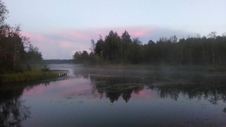 Озеро Лебяжье, пос. Лебедевка. Фото Екатерины Кейль
