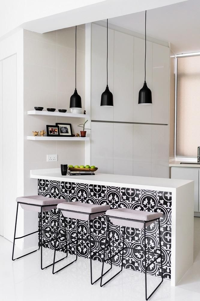 House Tour: A chic black-and-white D'Leedon home with a $30,000 reno price tag