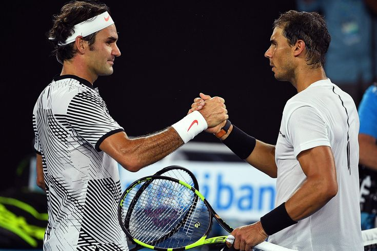 Tennis - Roger Federer, left, shakes hands with Rafael Nadal after winning the Australian Open final. WSJ - Curated by: John McLaughlin, Master Day Trading Coach - https://www.linkedin.com/in/daytradingcoach http://www.DayTradersWin.com  https://www.facebook.com/DayTradingStocks https://twitter.com/john_stockcoach https://plus.google.com/u/0/+JohnMcLaughlinStockCoach