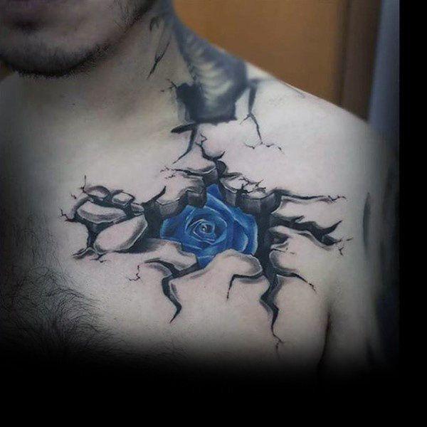 Cracked Skin Tattoo Arm