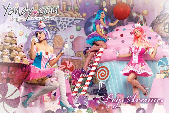 Satisfy your sweet tooth this Halloween with these delicious cupcake costumes from Yandy.com.