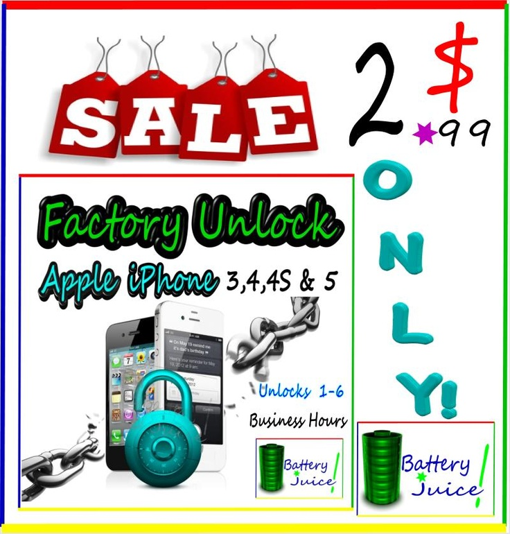Permanent Factory Unlock Service by iTunes AT Apple iPhone 2 3 3G 3GS 4 4S 5  ★CALL RIGHT NOW FOR UNLOCKING AT:480-409-1279★      ★1 DAY SALE 1-6 HRS 7 DAYS A WEEK 8:00am-6:00pm PST★    http://cgi.ebay.com/ws/eBayISAPI.dll?ViewItem=160956587584=STRK%3AMESE%3AIT