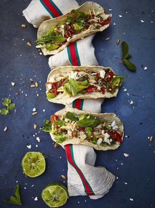 En tiempo del partido tacos mexicanos | Jamie Oliver | Comida | Jamie Oliver (Reino Unido)