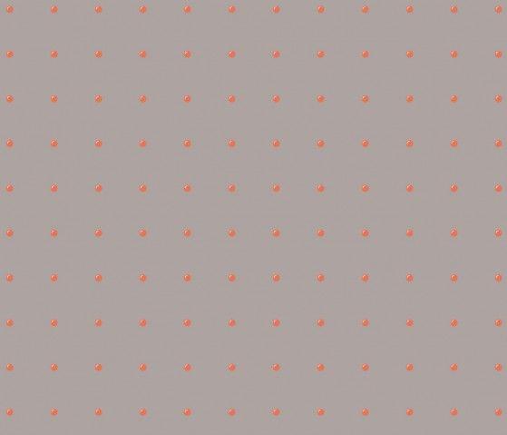 Papel Tapiz Dots  130x250cm - Gris con rojo - Muebles