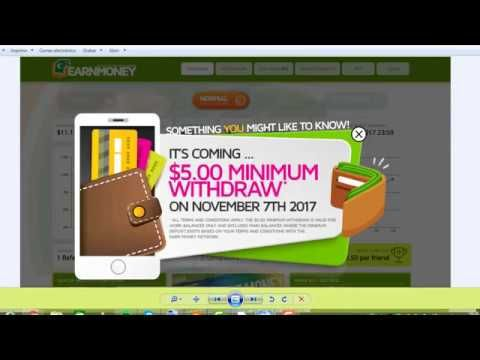 Earn Money Network   $10 Dólares Gratis