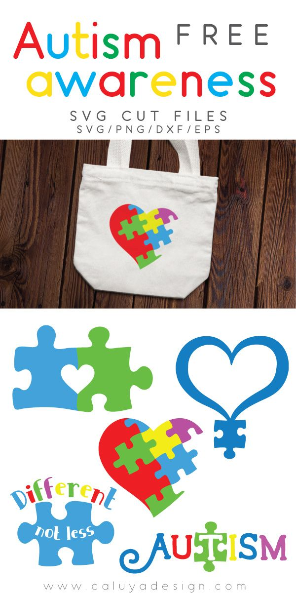 Free Autism Awareness SVG cut file, DXF, PNG & EPS cut file download. Compatible with Cameo Silhouette and Cricut cutting machines, 100% free for personal use! Autism awareness SVG cut file, awareness SVG cut file, puzzle SVG cut file, Heart SVG cut file, Free SVG cut file. Circuit and Cameo Silhouette DIY craft inspirations