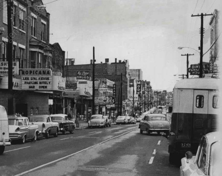 Monmouth Street, Newport, Kentucky; 1961 | Art & Artists ...