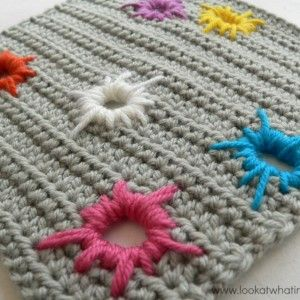 Crochet Zipper Join : How to Join Crochet Squares - Completely Flat Zipper Method - Loo...