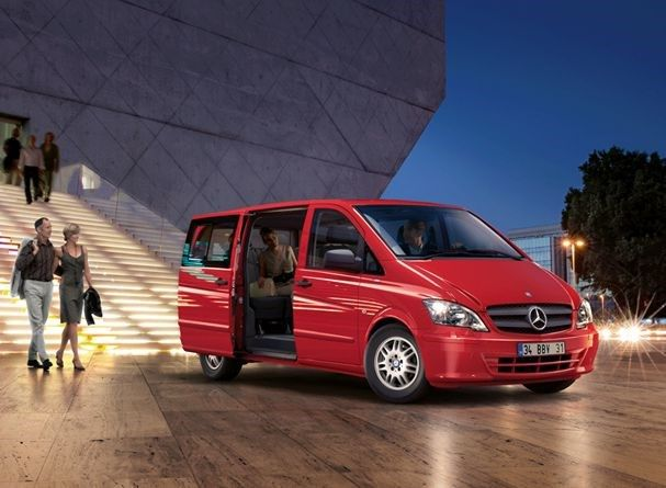 Vehicle hire with driver up to 6 pax in Istanbul