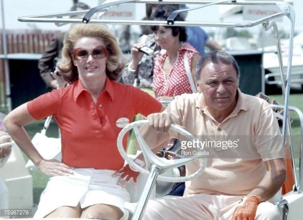 Barbara Sinatra dinah shore invitational | Frank Sinatra Barbara Sinatra Stock Photos and Pictures | Getty Images