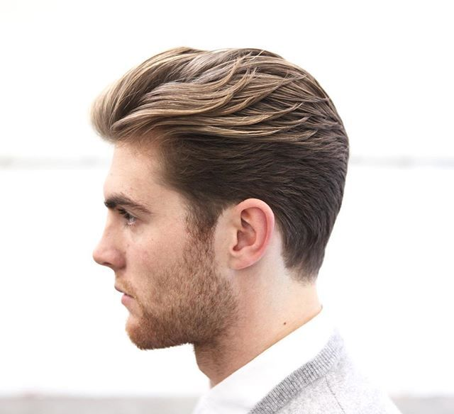 To achieve a square, masculine shape doesn't mean you need to skin the sides or even clipper them at all. Love these cuts a little longer on the sides... Especially for winter in Melbourne  I have some rare openings this week, let me give you a new style. Go ahead and book at www.morrismotley.com