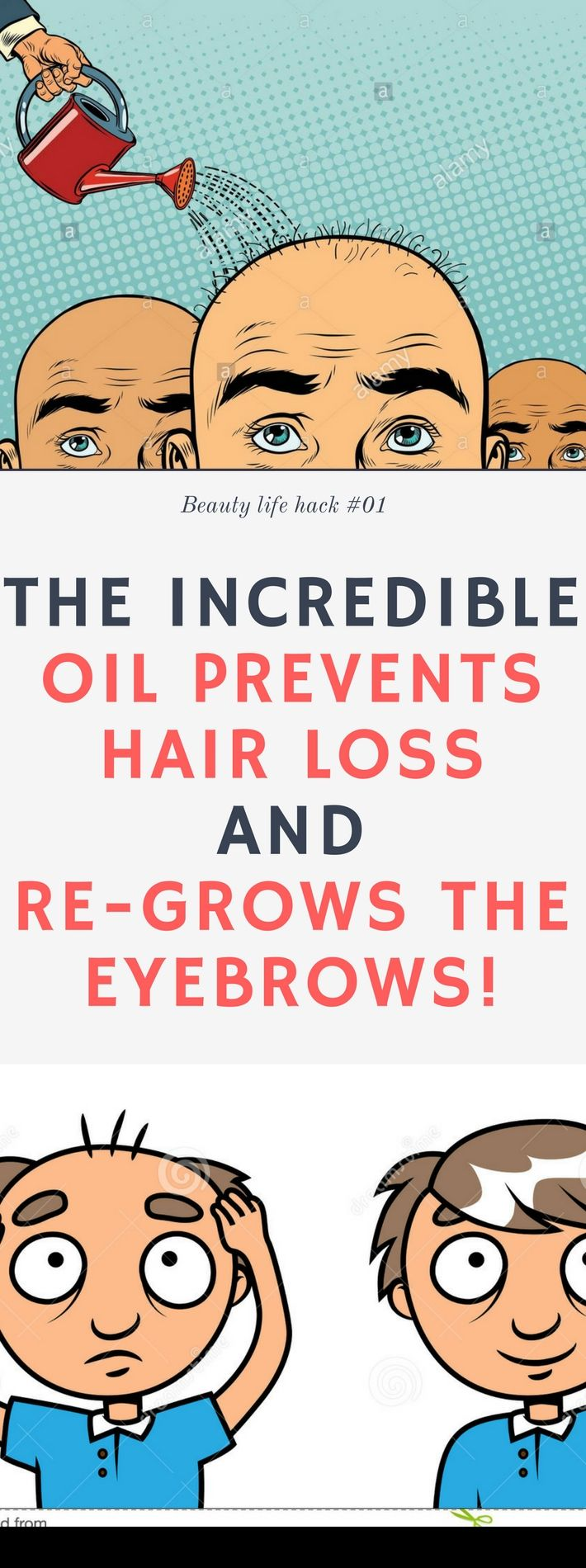 The Incredible Oil Prevents Hair Loss and Re-Grows The Eyebrows!! Here is !! Need to know.! Amazing !!!