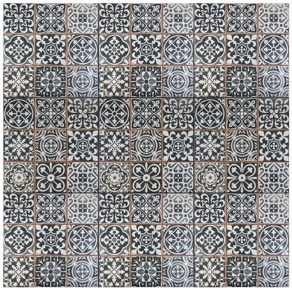 Faventie Nero 13 X 13 Ceramic Field Tile Ceramic Floor Ceramic Floor Tiles